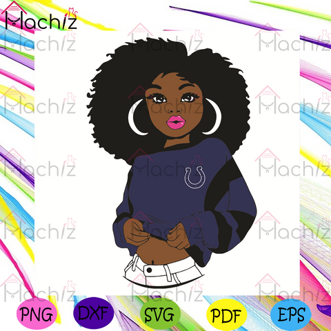Black Girl Indianapolis Colts Svg, Sport Svg, Indianapolis Colts Football Team Svg, Indianapolis Colts Svg, Black Girl Svg, Indianapolis Colts Fans Svg, Indianapolis Colts Gifts Svg, Indianapolis Colts Logo Svg, Black Girl Gifts Svg