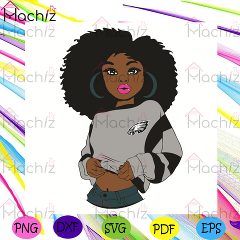 Black Girl Philadelphia Eagles Svg, Sport Svg, Philadelphia Eagles Football Team Svg, Philadelphia Eagles Svg, Black Girl Svg, Philadelphia Eagles Fans Svg, Philadelphia Eagles Gifts Svg, Philadelphia Eagles Logo Svg, Black Girl Gifts Svg