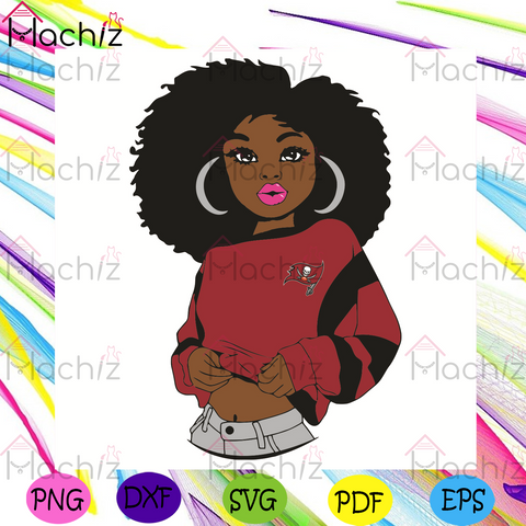 Black Girl Tampa Bay Buccaneers Svg, Sport Svg, Tampa Bay Buccaneers Football Team Svg, Tampa Bay Buccaneers Svg, Black Girl Svg, Tampa Bay Buccaneers Fans Svg, Buccaneers Gifts Svg, Buccaneers Logo Svg, Black Girl Gifts Svg