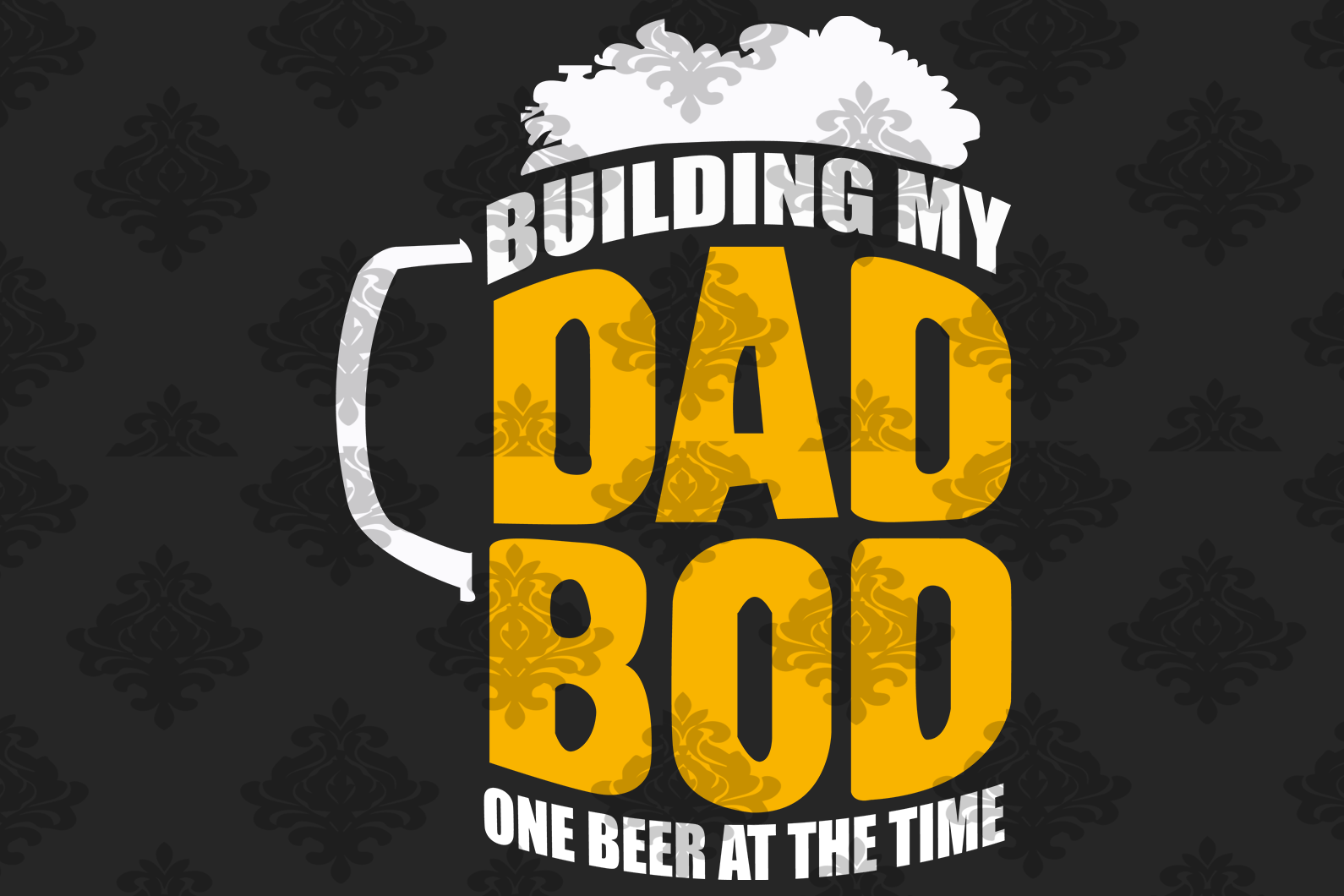 Building my dad bob one beer at the time, dad svg, papa svg, father svg, daddy svg, poppop svg Files For Silhouette, Files For Cricut, SVG, DXF, EPS, PNG, Instant Download