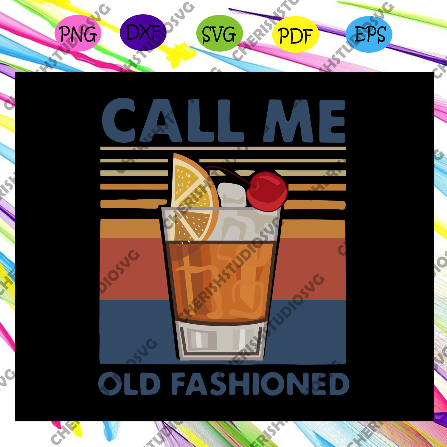 Call me old fashioned svg, vintage call me old fashioned svg, funny drinking svg, Whiskey svg, old fashioned svg, whiskey lover, whiskey lover gift, drinking lover, Files For Silhouette, Files For Cricut, SVG, DXF, EPS, PNG, Instant Download