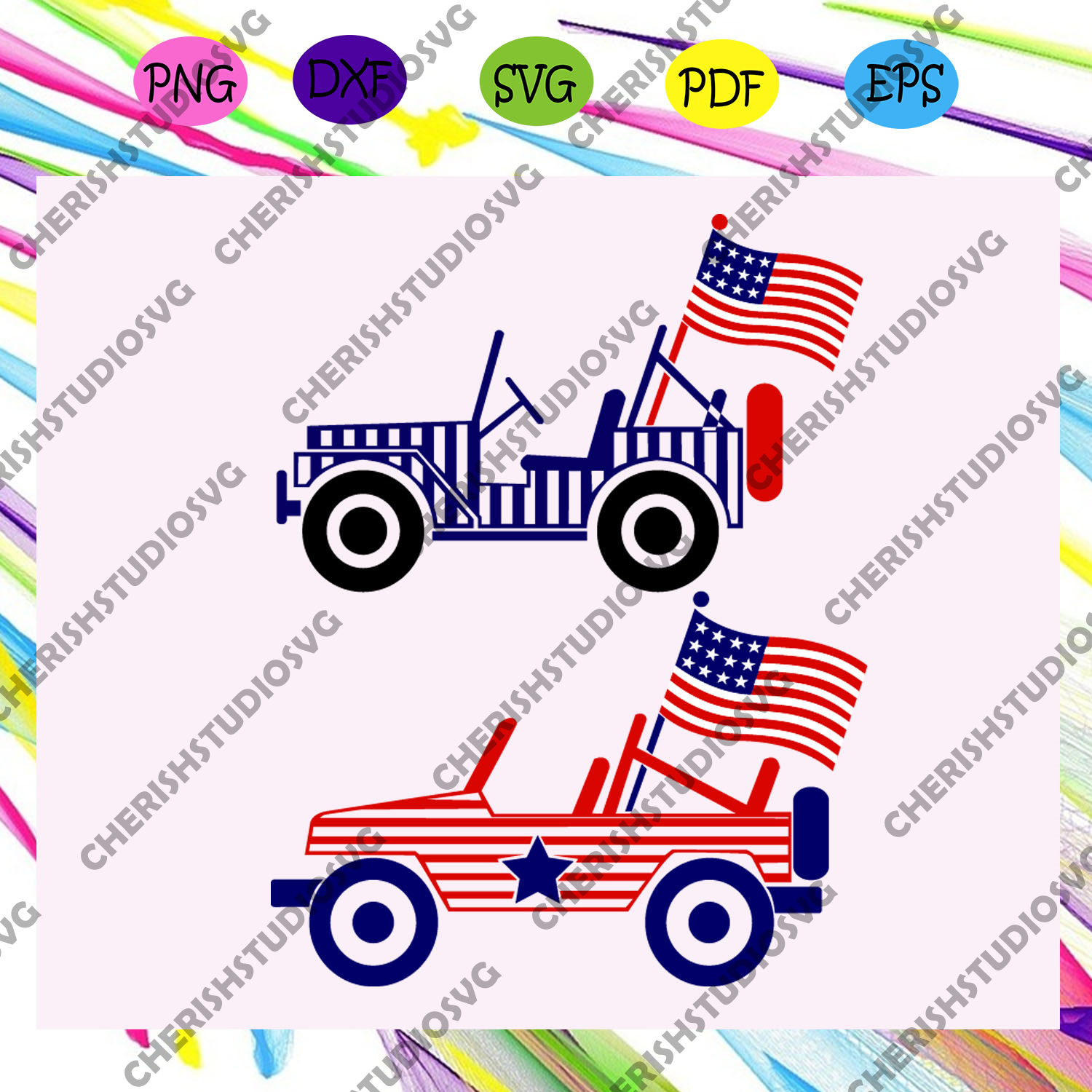 Car america flag, camping lover,independence day svg,american flag, happy 4th of july svg,patriotic svg, independence day gift,For Silhouette, Files For Cricut, SVG, DXF, EPS, PNG Instant Download