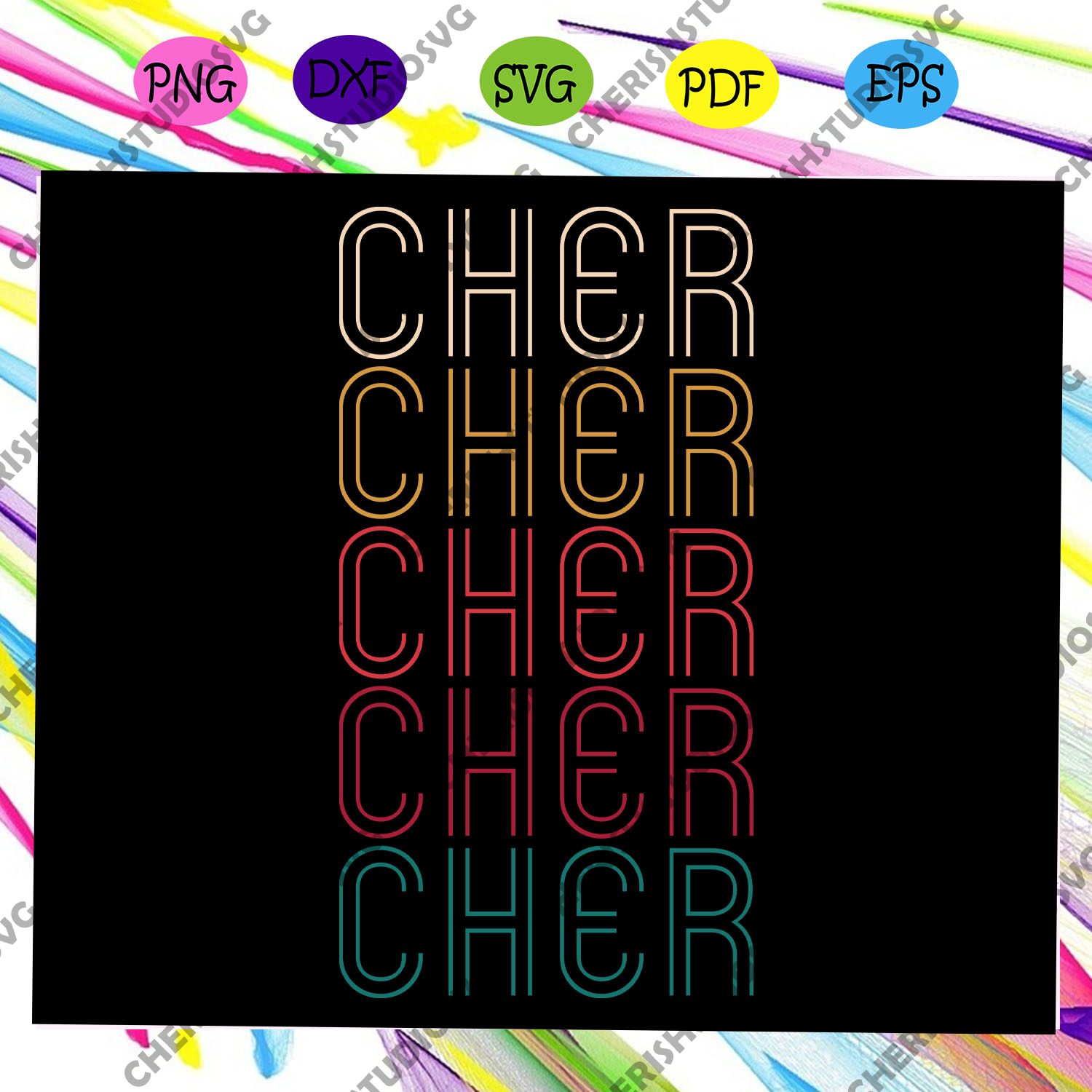 Cher shirt svg, retro svg, vintage svg, retro vintage For Silhouette, Files For Cricut, SVG, DXF, EPS, PNG Instant Downloa