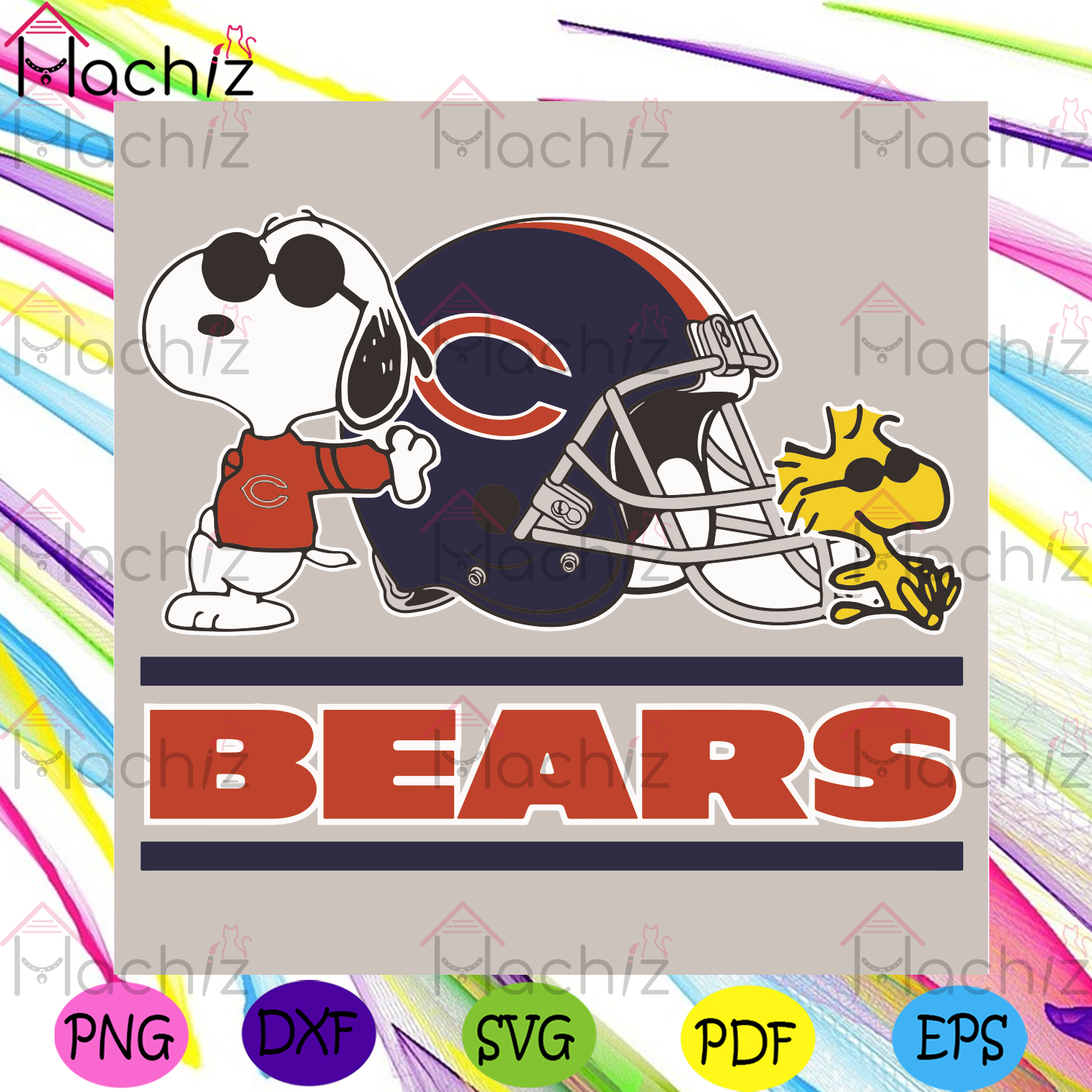 Chicago Bears Snoopy Woodstock Svg, Sport Svg, Chicago Bears Svg, Chicago Bears Football Team Svg, Chicago Bears NFL Svg, Chicago Bears Helmet Svg, Snoopy Svg, Chicago Bears Snoopy Svg, Woodstock Svg, NFL Svg