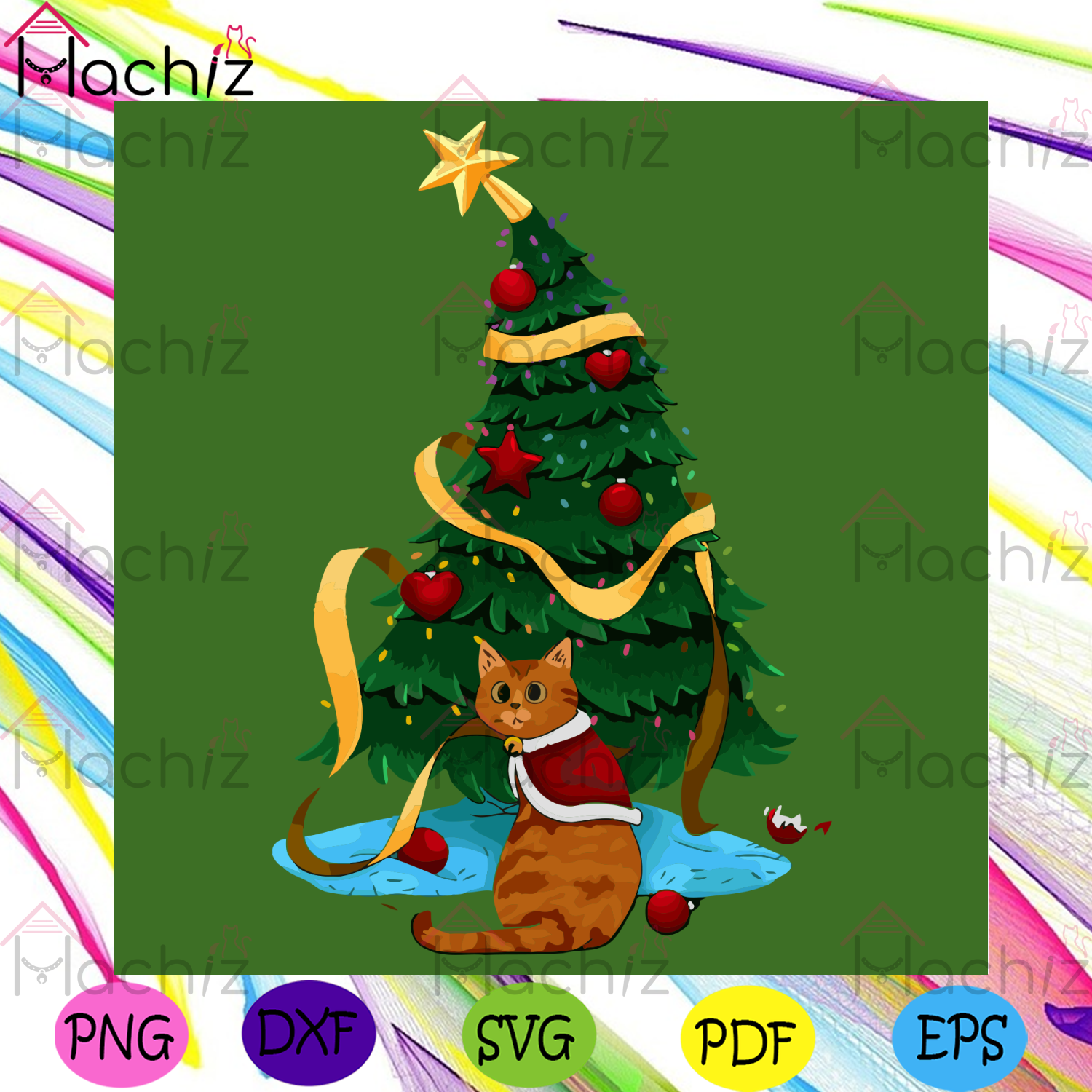 Christmas Kitty Svg, Christmas Svg, Christmas Tree Svg, Kitty Svg, Christmas Cat Svg, Bauble Svg, Christmas Star Svg, Christmas Gifts Svg, Christmas Holiday Svg, Kitty Lovers Svg, Kitty Gifts Svg, Xmas Svg, Noel Svg, Jingle Bell Svg