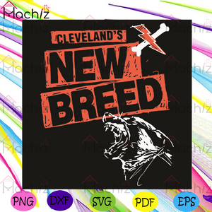 Cleveland Football New Breed Svg, Sport Svg, Cleveland Svg, Cleveland Football Svg, Nfl Svg, Cleveland Browns Nfl Svg, Football Svg, American Football Svg, Football Gifts Svg, Sport Gifts Svg, Champion Svg, New Breed Svg