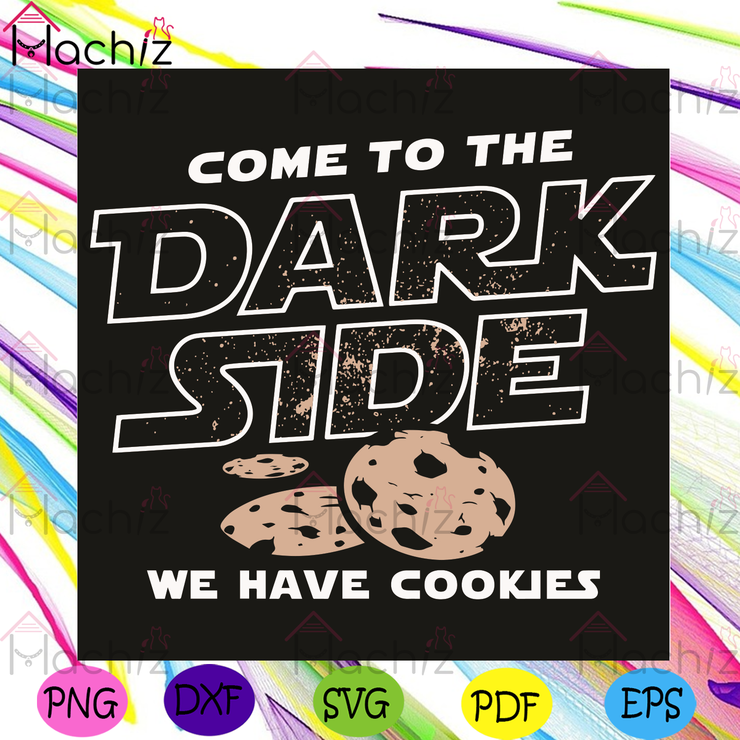 Come To The Dark Side We Have Cookies Svg, Trending Svg, Dark Side Svg, Cookies Svg, Star Wars Svg, Star Wars Lovers Svg, Star Wars Gifts Svg, Universe Svg, Star Svg, Space Svg, Funny Quotes Svg, Funny Design Svg