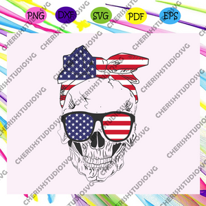 Death's head skull american flag,independence day svg,happy Independence Day,independence gift,4th of july svg, fourth of july svg files, american flag svg,independence day svg ,For Silhouette, Files For Cricut, SVG, DXF, EPS, PNG Instant Download