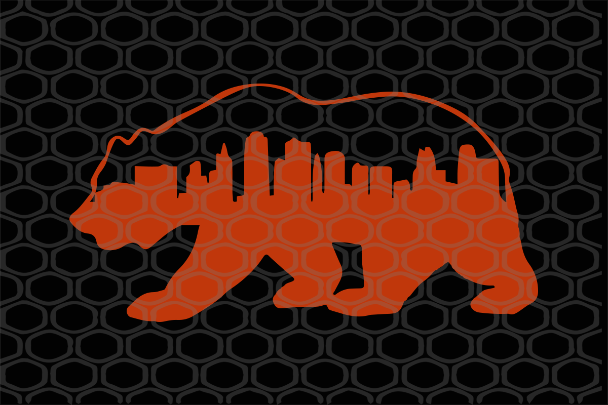 Downtown chicago city skyline, chicago, chicago svg, downtown, downtown chicago, city, chicago skyline, chicago photography, trending svg, Files For Silhouette, Files For Cricut, SVG, DXF, EPS, PNG, Instant Download