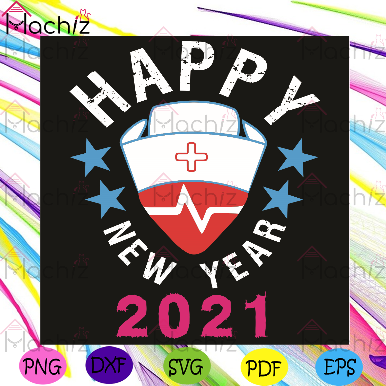 Happy New Year 2021 Svg, Trending Svg, 2021 Svg, Happy New Year Svg, Nurse Svg, Nurse Life Svg, Strong Life Svg, Heartbeat Svg, Red Cross Svg, 2020 Svg, Healing Svg, Healthy Life Svg, Happy Svg, A Rough Year Svg, Happy Year Svg
