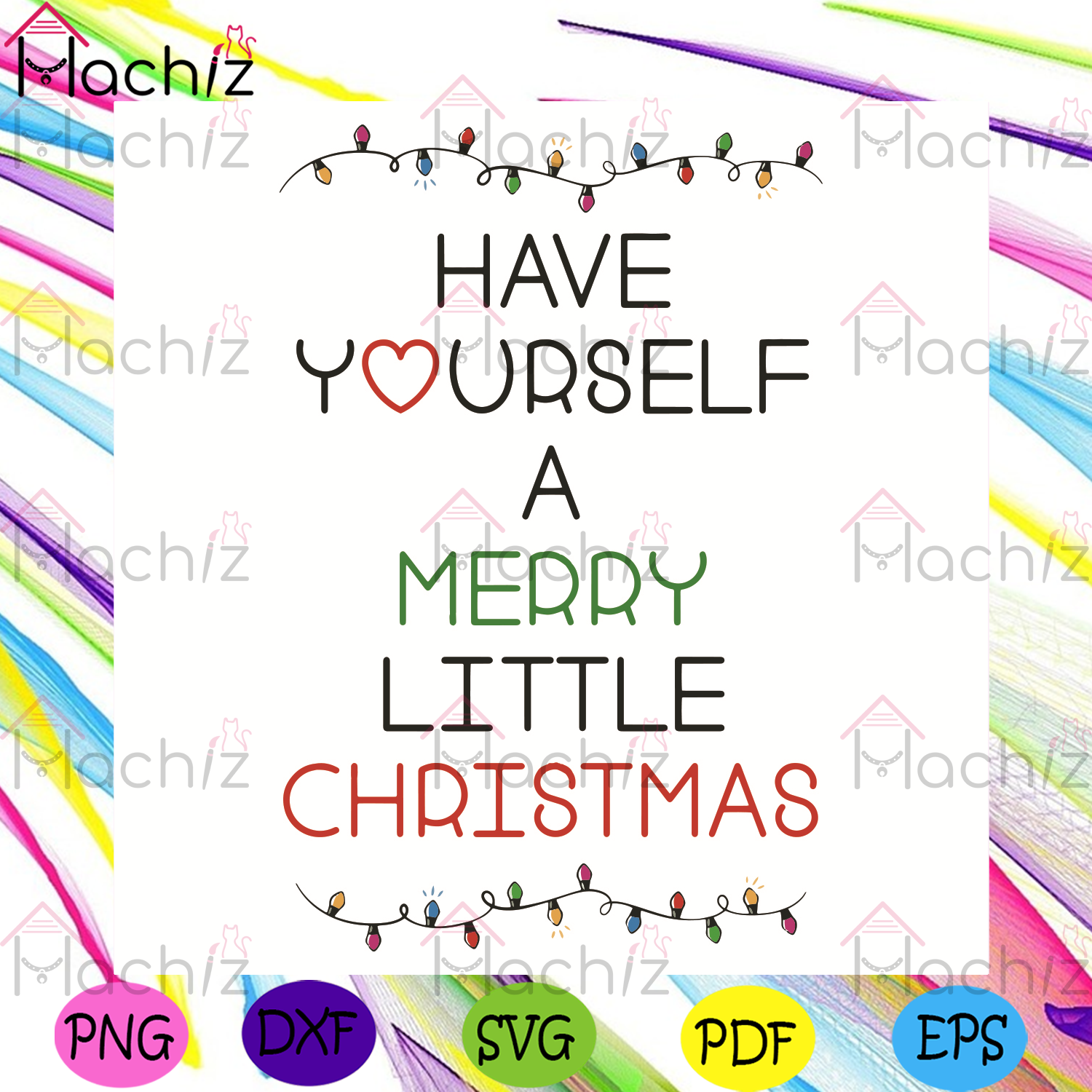 Have Yourself A Merry Little Christmas Svg, Christmas Svg, Merry Christmas Svg, Christmas Lights Svg, Christmas Gifts Svg, Christmas Day Svg, Merry Christmas Svg, Christmas Holiday Svg, Love Yourself Svg, Christmas Quotes Svg,