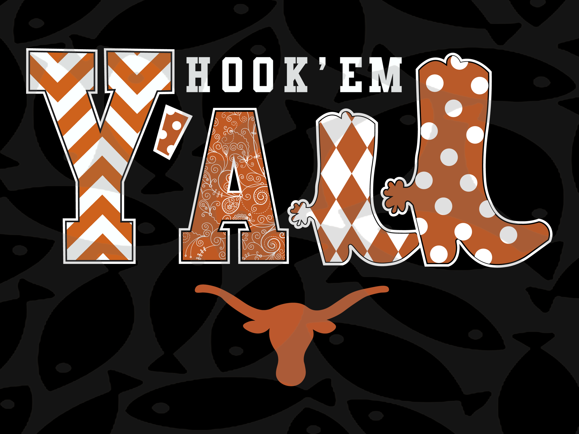 Hook'em y'all, texas longhorns, texas, university of texas, longhorns, texas longhorn, longhorn, texas football, austin texas,trending svg, Files For Silhouette, Files For Cricut, SVG, DXF, EPS, PNG, Instant Download
