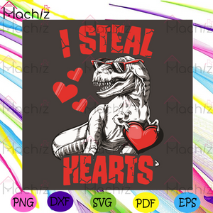 I Steal Hearts Svg, Valentine Svg, T Rex Dinosaur Svg, T Rex Dinosaur Lovers Svg, T Rex Dinosaur Heart Svg, Valentine 2021 Svg, Heart Svg, Love Svg, Couple Svg, Couple Love Svg, Couple Gifts Svg, Valentine Day Svg, Valentine Gifts Svg