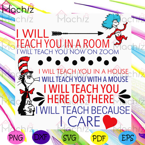 I Will Teach You In A Room Covid 19 Svg, Dr Seuss Svg, Quarantined Teacher Svg, Dr Seuss Teacher Svg, Virtual Learning Svg, Online Learning Svg, Cat In The Hat Svg, Teacher Svg, Teaching Svg, Dr Seuss Quotes, Dr Seuss Gift Svg