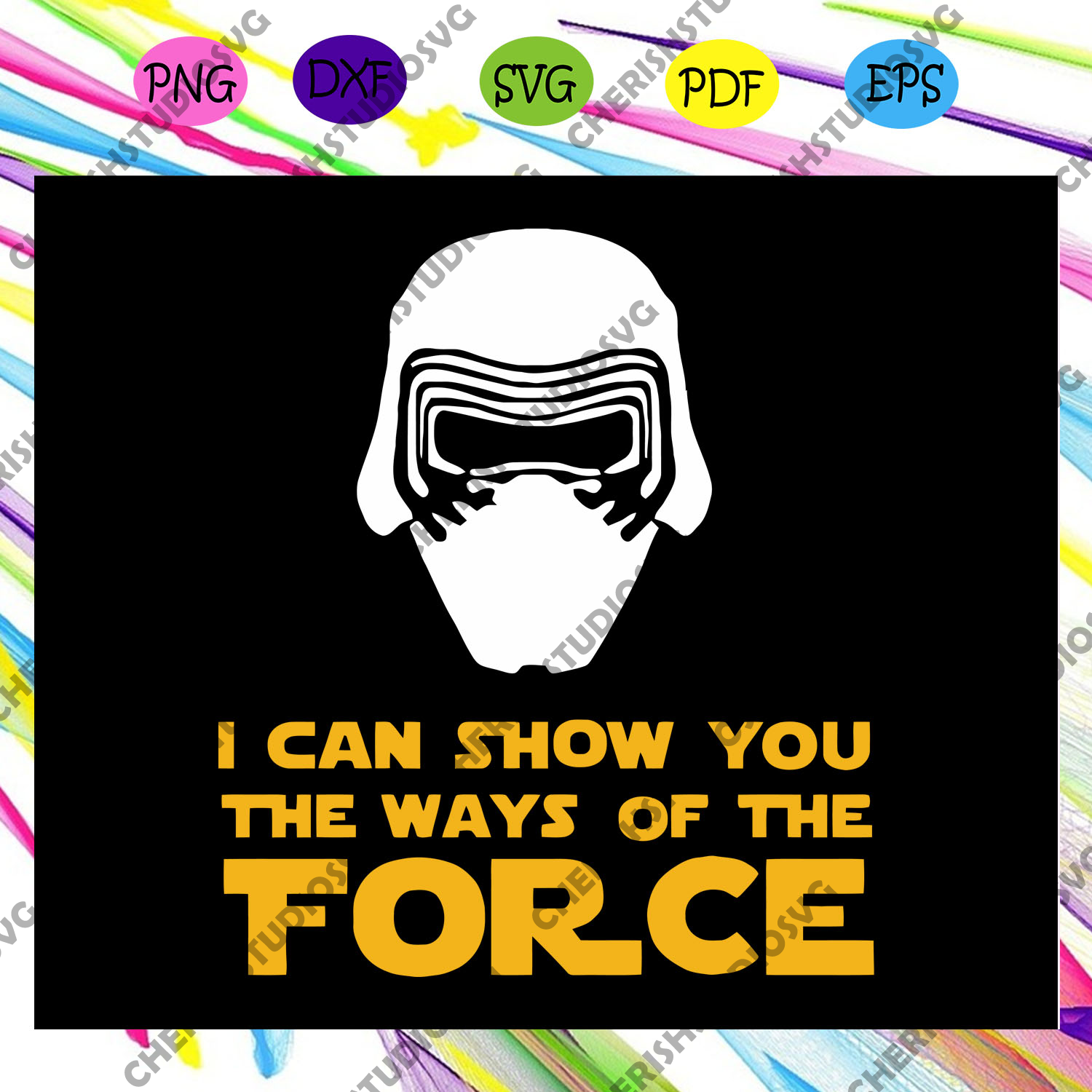 I can show you the ways of the force, star wars gift, star wars shirt, star war svg,Files For Silhouette, Files For Cricut, SVG, DXF, EPS, PNG, Instant Download