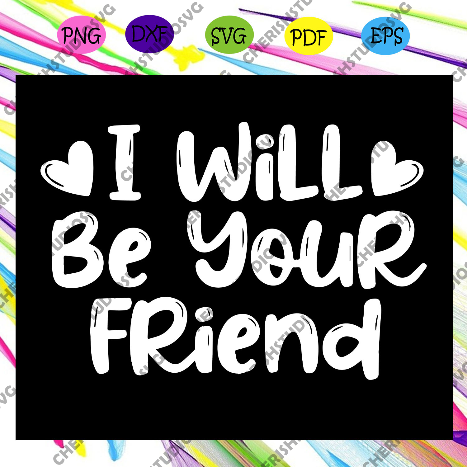 I will be your friend, friends font svg, friends gift, friends shirt, friends font, friends tv show,friends font png, friends svg,trending svg For Silhouette, Files For Cricut, SVG, DXF, EPS, PNG Instant Download