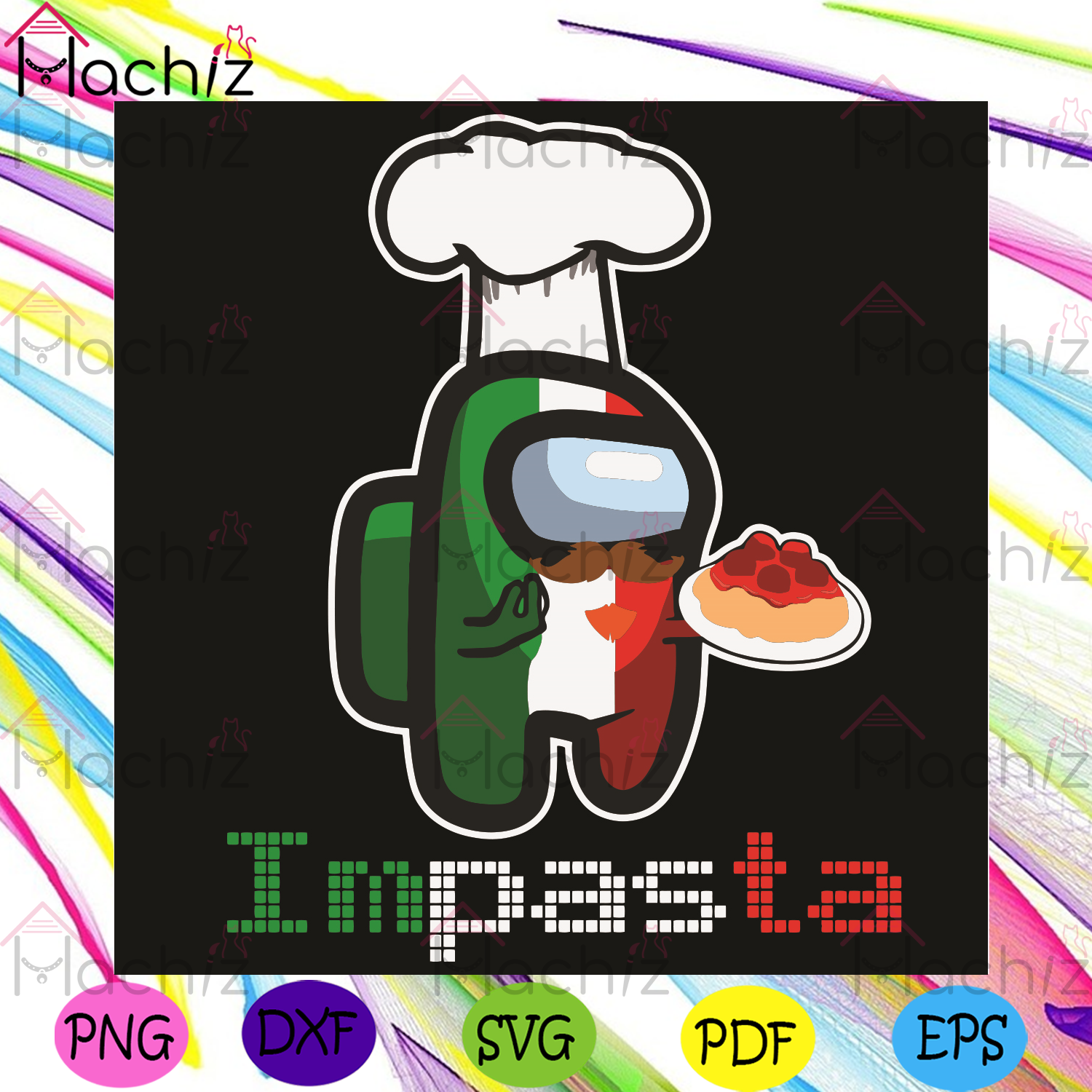 Impasta Svg, Trending Svg, Among Us Svg, Italian Pasta Svg, Impostor Svg, Chef svg, Crewmate Svg, Italian Pasta Lovers Svg, Pasta Svg, Pasta Noodle Svg, Sus Svg, Among Us Characters Svg, Among Us Lovers, Among Us Gifts Svg