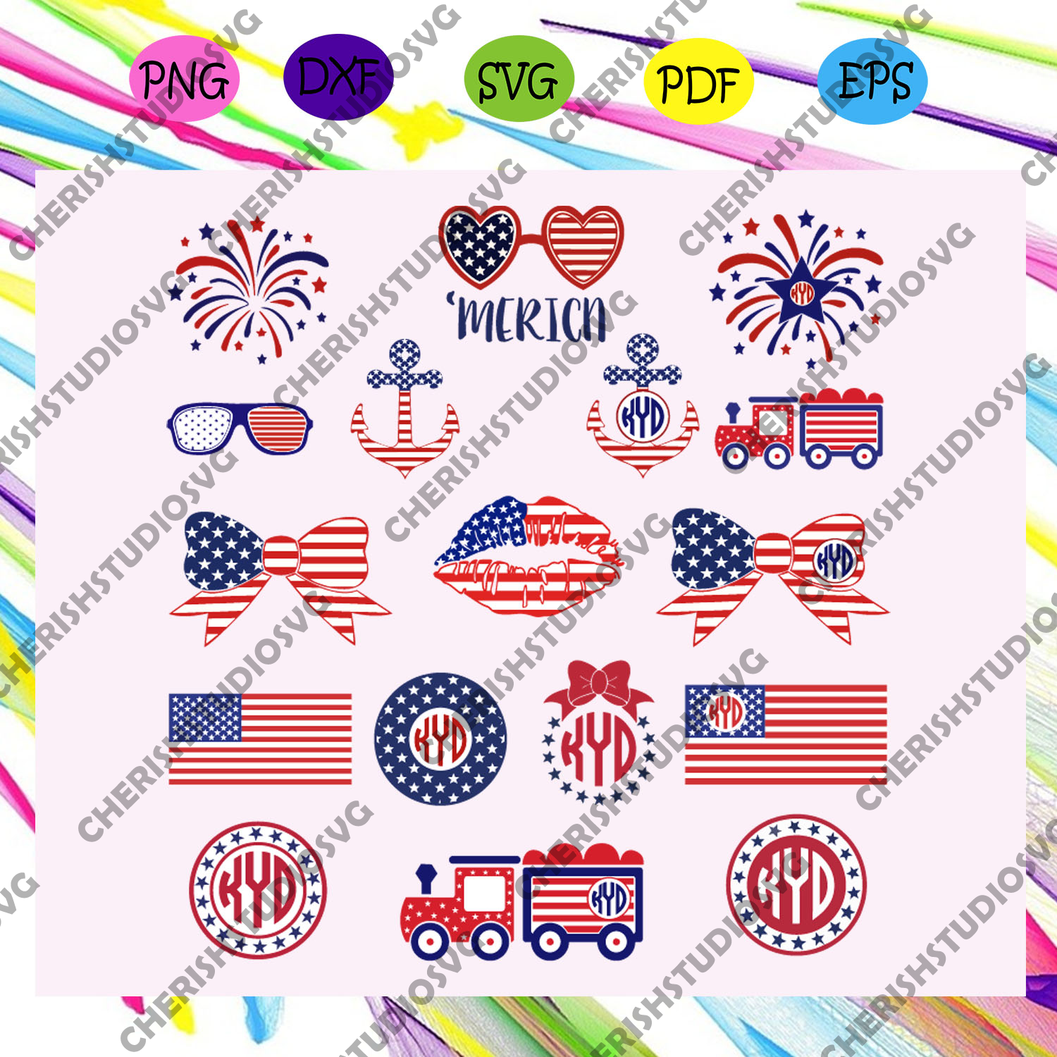 Independence day bundle svg, American Flag Svg, Fourth Of July Svg, America Svg, Patriotic American Svg, Independence Day Svg, Memorial Day, Files For Silhouette, Files For Cricut, SVG, DXF, EPS, PNG, Instant Download