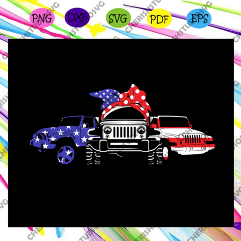Jeep america flag, jeep svg, independence day svg,american flag, happy 4th of july svg,patriotic svg, independence day gift,For Silhouette, Files For Cricut, SVG, DXF, EPS, PNG Instant Download