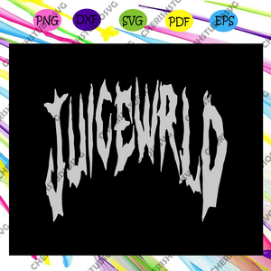 Juice wrld SVG , juice wrld, rap hiphop, juice wrld art, hiphop svg, trending svg For Silhouette, Files For Cricut, SVG, DXF, EPS, PNG Instant Download
