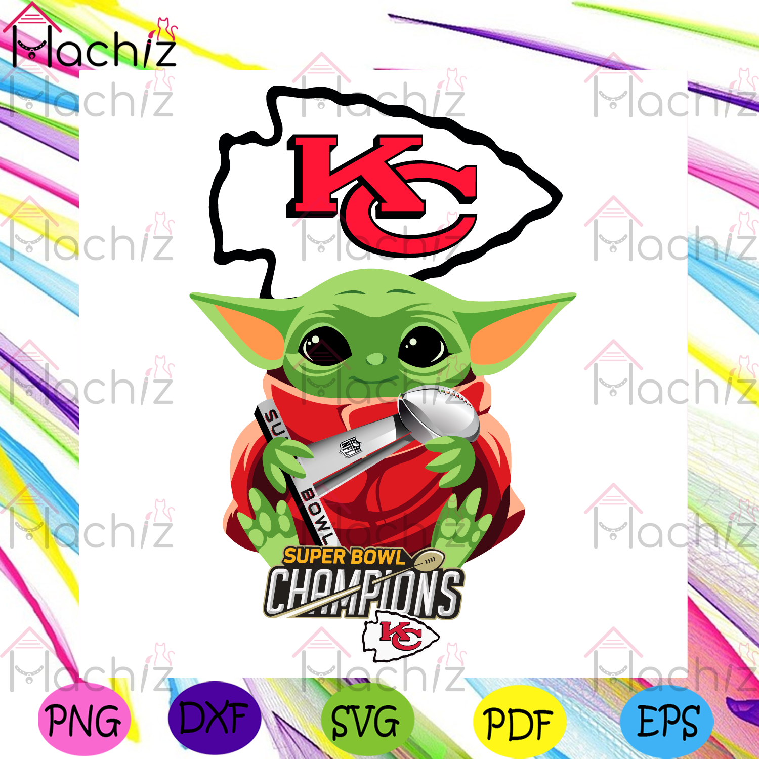 KC Chiefs Yoda Spuper Bowl Champions Svg, Sport Svg, Kansas City Chiefs, Chiefs Svg, KC Svg, KC Chiefs Svg, Chiefs Champs Svg, Chiefs Champions, KC Champions, KC Champs, Super Bowl Champs