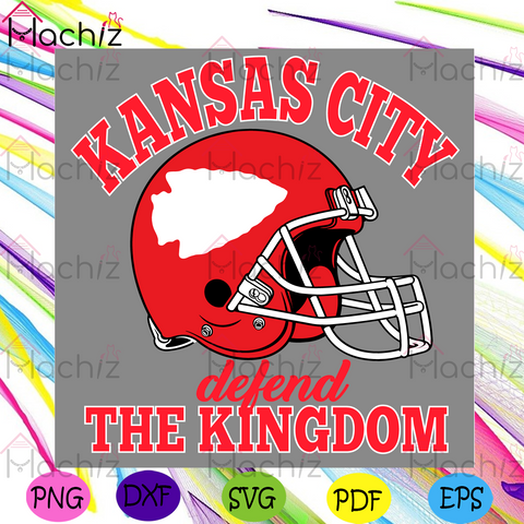 Kansas City Defend The Kingdom Svg, Sport Svg, Super Bowl 2021 Svg, Kansas City Chiefs Svg, Kansas City Chiefs Logo Svg, KC Chiefs Lovers Svg, Chiefs Fan Svg, Chiefs Helmets Svg, Champions Svg, Chiefs Gifts Svg, NFL Svg