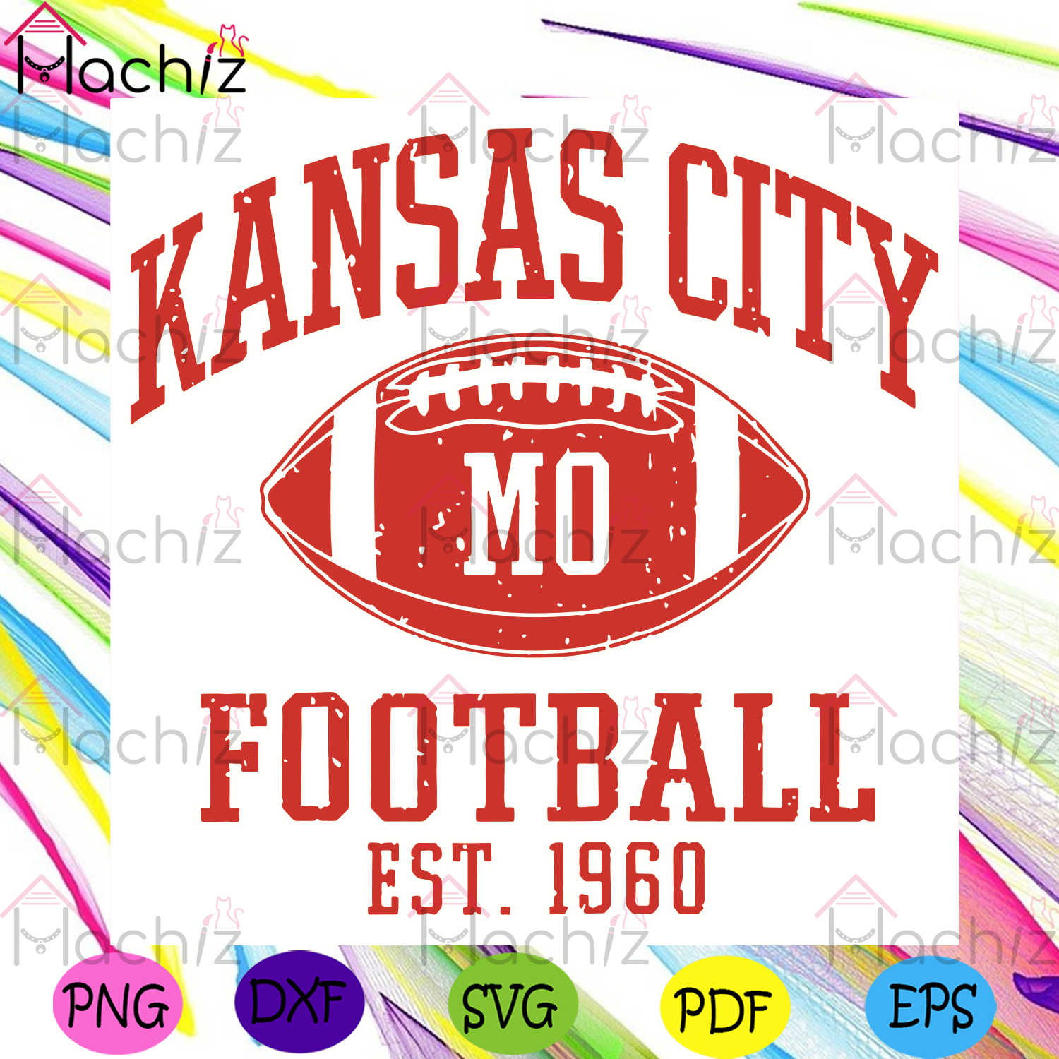 Kansas City Mo Football Est 1960 Svg, Sport Svg, Kansas City Chiefs Svg, Football Svg, Kc Svg, Super Bowl Svg, Patrick Mahomes Svg, Kansas City Fans Svg, Kansas City Lovers Svg, Football Fans Svg, Football Lovers Svg, Football Gifts Svg