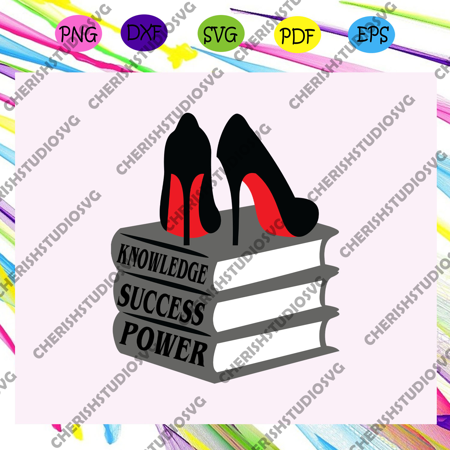Knowledge success power svg, Knowledge svg, feminist svg, feminist shirt, feminist art,feminist gift, feminist poster, the future is female, gift for her, gift for him, svg files for cricut, svg files