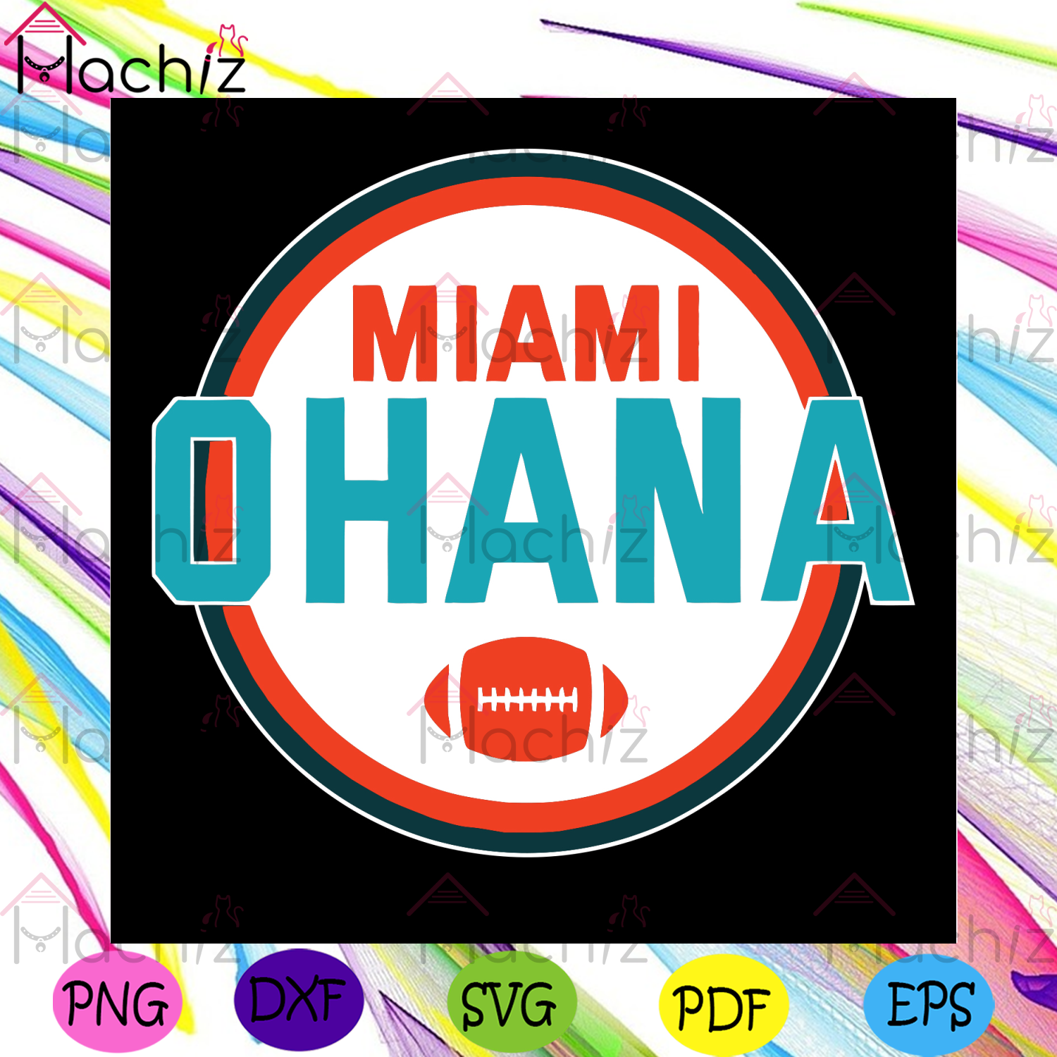 Miami Ohana Svg, Sport Svg, Miami Football Svg, Football Svg, Football Team Svg, Miami Gifts Svg, Football Lovers Svg, Football Gifts Svg, Sport Fans Svg, Sport Lovers Svg, Sport Gifts Svg, Vintage Svg, Vintage Design Svg, Retro Svg
