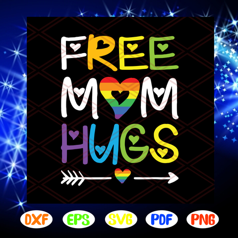 Free Mom Hugs Svg, Rainbow Heart Svg, Lgbt Pride Month Svg, Lgbt Svg, Pride Month Svg, Together We Rise Svg, Gay Pride Svg, Lgbt Pride Svg, Lgbt Svg, Lgbt Pride Gift, Files For Silhouette, Files For Cricut, SVG, DXF, EPS, PNG, Instant Download