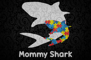 Mommy shark, mother's day svg, mother day, mother svg, mom svg, nana svg, mimi svg For Silhouette, Files For Cricut, SVG, DXF, EPS, PNG Instant Download