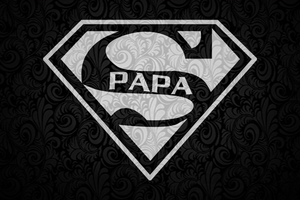 Super Papa SVG, papa svg, baba svg,father's day svg, father svg, dad svg, daddy svg, poppop svg Files For Silhouette, Files For Cricut, SVG, DXF, EPS, PNG, Instant Download