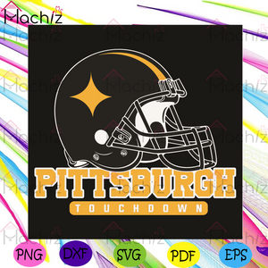 Pittsburgh TouchDown Svg, Sport Svg, Pittsburgh Football Team Svg, Pittsburgh Lovers Svg, Pittsburgh Gifts Svg, Pittsburgh helmet svg, Pittsburgh Football Svg, Football Champion Svg, Football Team Svg, Football Gifts