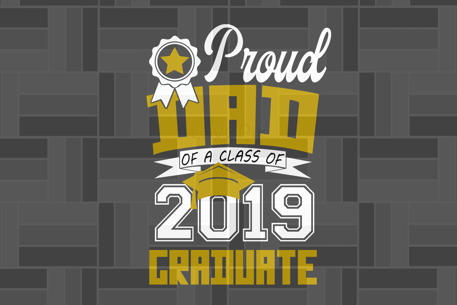 Proud dad of a class of 2019 graduate, papa svg, baba svg,father's day svg, father svg,  daddy svg, poppop svg Files For Silhouette, Files For Cricut, SVG, DXF, EPS, PNG, Instant Download