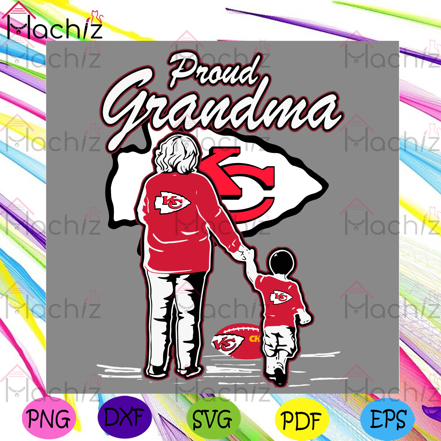 Pround Grandma Kansas City Chiefs Svg, Sport Svg, Grandpa Svg, Kansas City Chiefs Svg, Kansas City Chiefs Logo Svg, Grandma Gifts Svg, Chiefs Fans Svg, Chiefs Football Svg, Super Bowl 2021 Svg, NFL Svg, Grandma Svg, Grandpa Gifts Svg