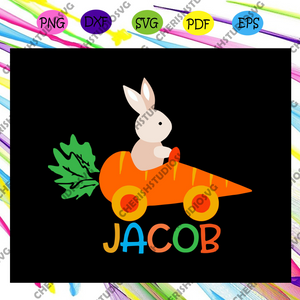 Rabbit jacob, jacob svg, jacob gift, jacob shirt, jacob lover,rabbit svg, rabbit lover, carrot svg,carrot car,svg cricut, silhouette svg files, cricut svg, silhouette svg, svg designs, vinyl svg
