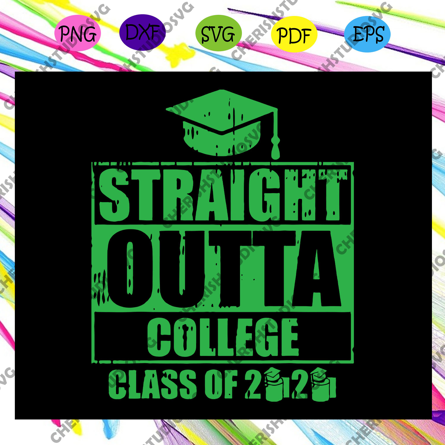 Straight outta college class of 2020,senior svg, senior gift, graduation gift, graduation svg, gift for student, funny gift, digital file, vinyl for cricut, svg cut files, svg clipart, silhouette svg, cricut svg files, decal and vinyl,