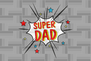 Super dad SVG , dad svg, papa svg, father svg, daddy svg, poppop svg Files For Silhouette, Files For Cricut, SVG, DXF, EPS, PNG, Instant Download