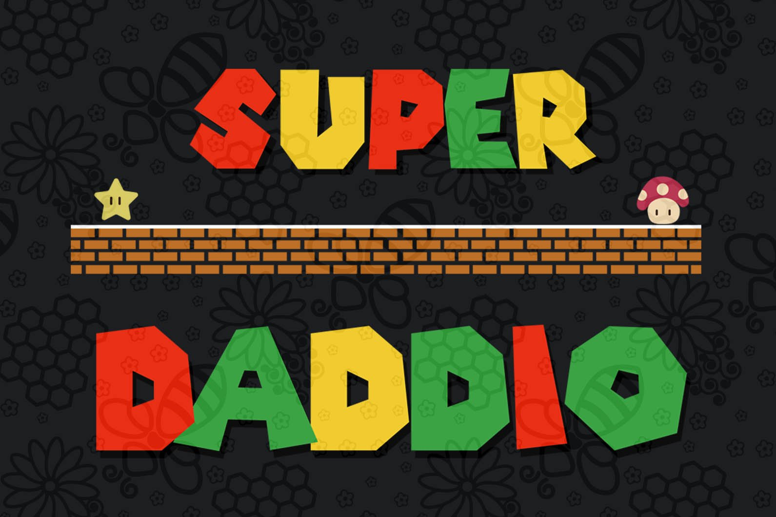 Super daddio , papa svg, baba svg,father's day svg, father svg, dad svg, daddy svg, poppop svg Files For Silhouette, Files For Cricut, SVG, DXF, EPS, PNG, Instant Download