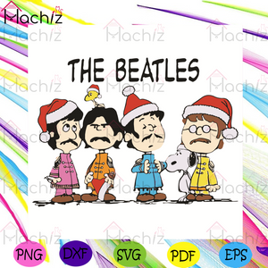 The Beatles Svg, Christmas Svg, The Beatles Santa Svg, Snoopy Svg, Snoopy Christmas Svg, The Beatles Lovers Svg, The Beatles Fans Svg, Uk Music Svg, Music Band Svg, Snowing Svg, Merry Christmas Svg, Christmas Gifts Svg