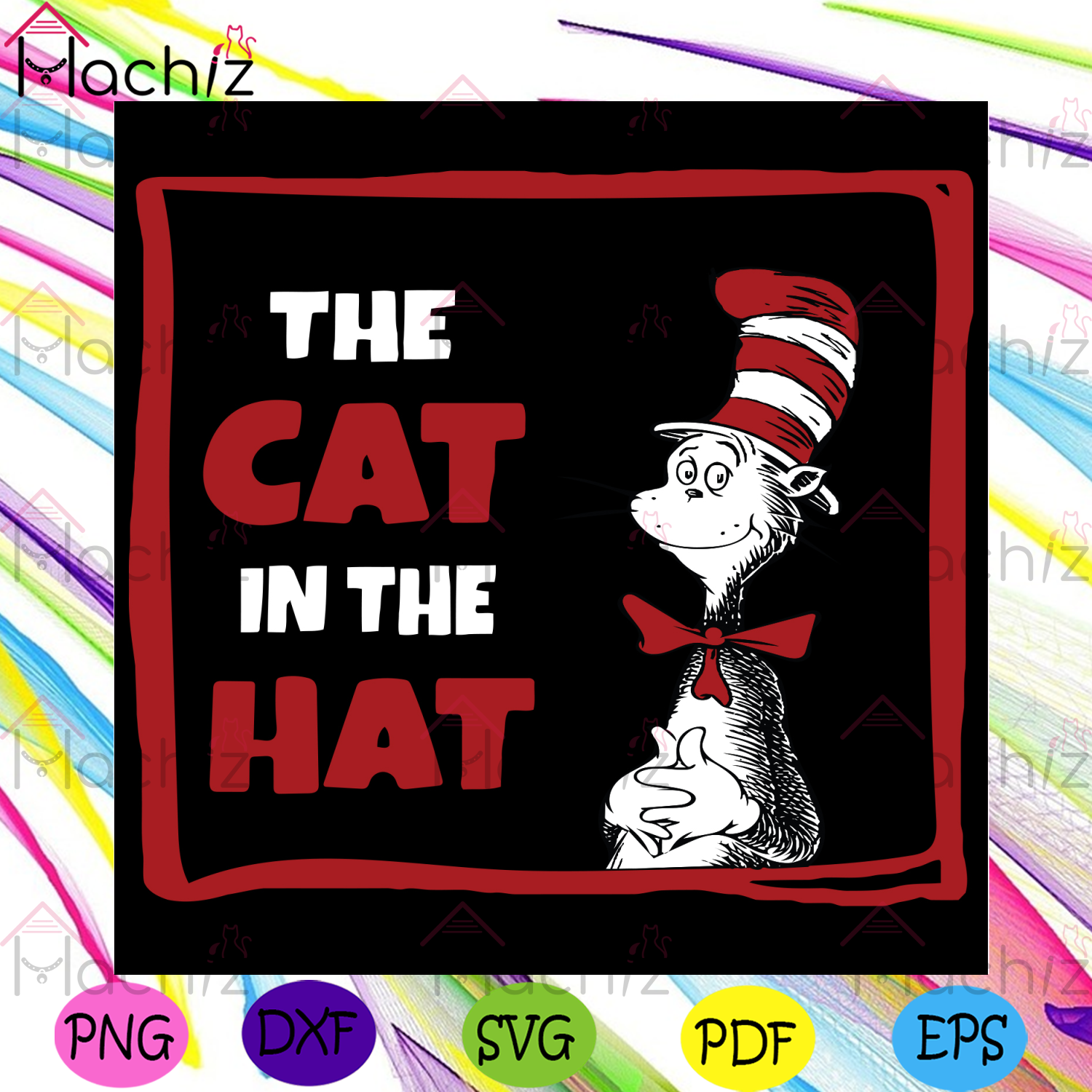 The Cat In The Hat Svg, Dr Seuss Svg, The Cat In The Hat Svg, Dr Seuss Cat Svg, The Cat Svg, The Cat In The Hat Lovers Svg, Catinthehat Svg, Catinthehat Gifts Svg, Dr Seuss Lovers Svg, Dr Seuss Fans Svg, Dr Seuss Gifts Svg