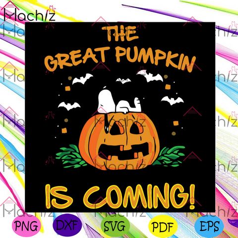 The Peanuts Great Pumpkin Believer Since 1966 Svg, Halloween Svg, Pumpkin Svg, Peanuts Svg, Great Pumpkin Svg, Believer Since 1966 Svg, Spooky Svg, Bats Svg, Funny Pumpkin, Charlie Brown Svg, Halloween Party