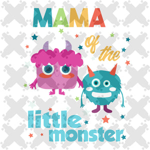 Mama of the little monster,monster svg,  mama svg, mama gift, mama life,family svg, family shirt,family gift,trending svg, Files For Silhouette, Files For Cricut, SVG, DXF, EPS, PNG, Instant Download