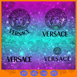 Versace bundle SVG , trending svg, Files For Silhouette, Files For Cricut, SVG, DXF, EPS, PNG, Instant Download