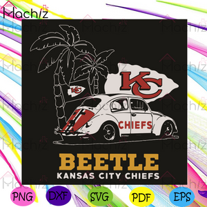 Volkswagen Beetle Kansas City Chiefs Svg, Sport Svg, Kc Chiefs Svg, Kansas City Chiefs Svg, Kansas City Chiefs Fans Svg, Kansas City Chiefs Lovers Svg, Football Svg, Football Team Svg, Volkswagen Svg, Kc Chiefs Gifts Svg,