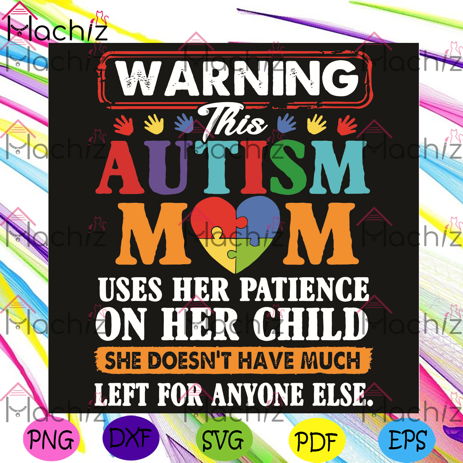 Warning This Autism Mom Svg, Autism Svg, Autism Mom Svg, Mom Svg, Child Svg, Autism Mom Shirt, Autism Awareness Svg, Mom Lover, Mommy Svg, Mom Life Svg, Gift For Mom