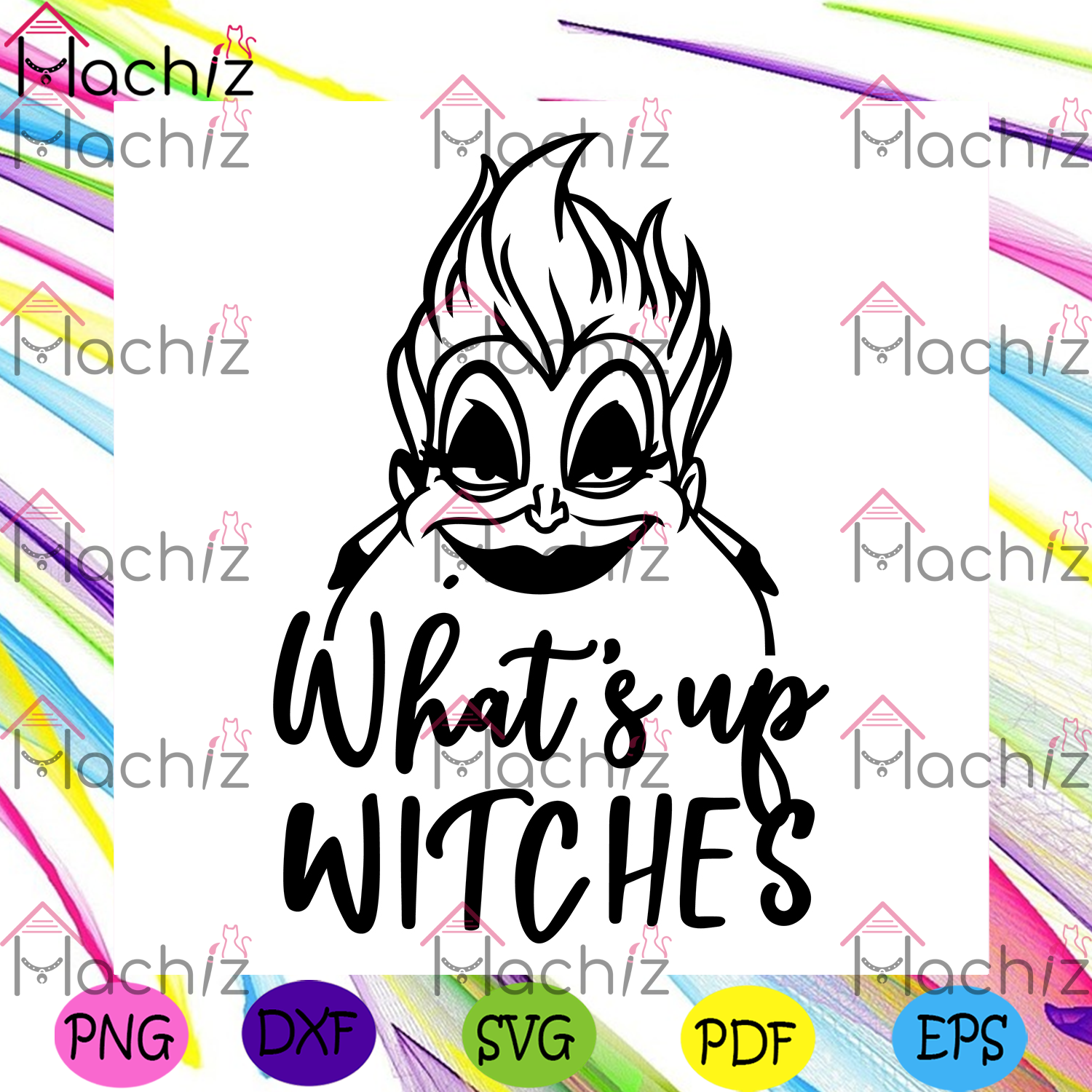 Whats Up Witches Svg, Halloween Svg, Witches Svg, Ursula Svg, Cute Witch Svg, Disney Halloween svg, Disney Svg, Evil Queen Svg, Bad Witch Svg, Halloween Day, Halloween Gift, Halloween Party