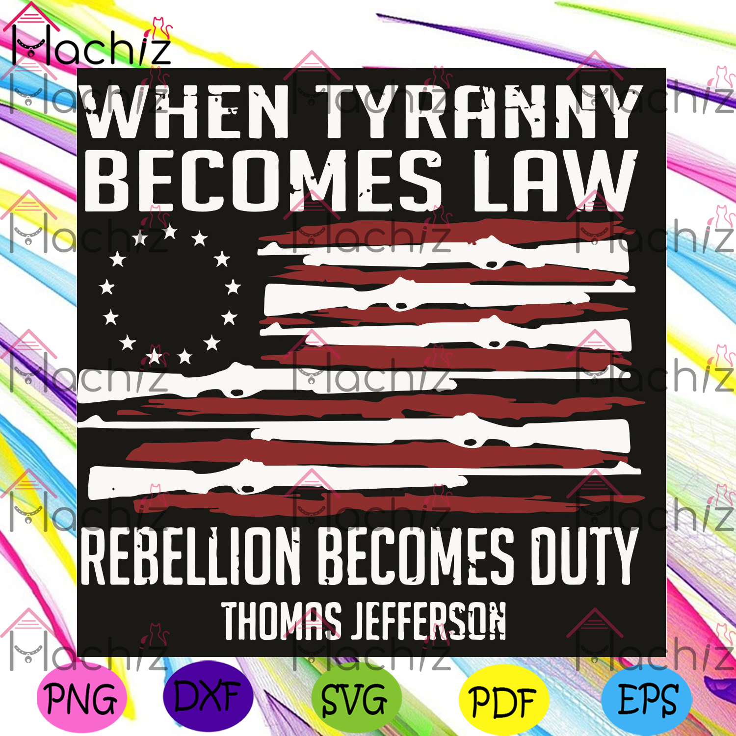 When Tyranny Becomes Law Svg, Trending Svg, Tyranny Svg, Rebellion Becomes Duty Svg, American Flag Svg , USA Vintage Svg, Veteran Day Gif, Thomas Jefferson Quote, Rebel Shirt, American Patriot, Svg Cricut