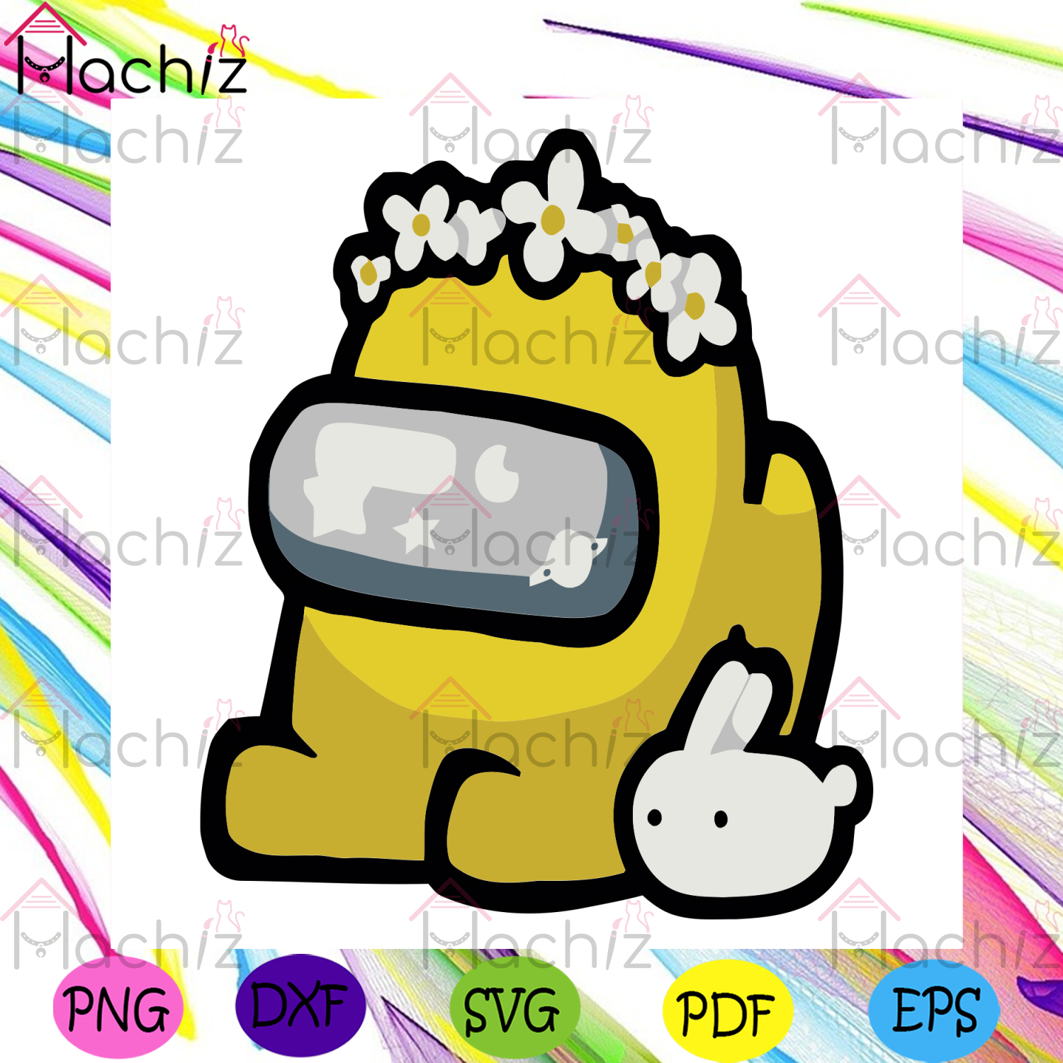 Yellow Impostor Svg, Trending Svg, Among Us Svg, Impostor Svg, Crewmate Svg, Flowers Svg, Bunny Svg, Cute Impostor Svg, Among Us Characters Svg, Among Us Lovers, Among Us Gifts Svg, Game Svg, Gaming Svg