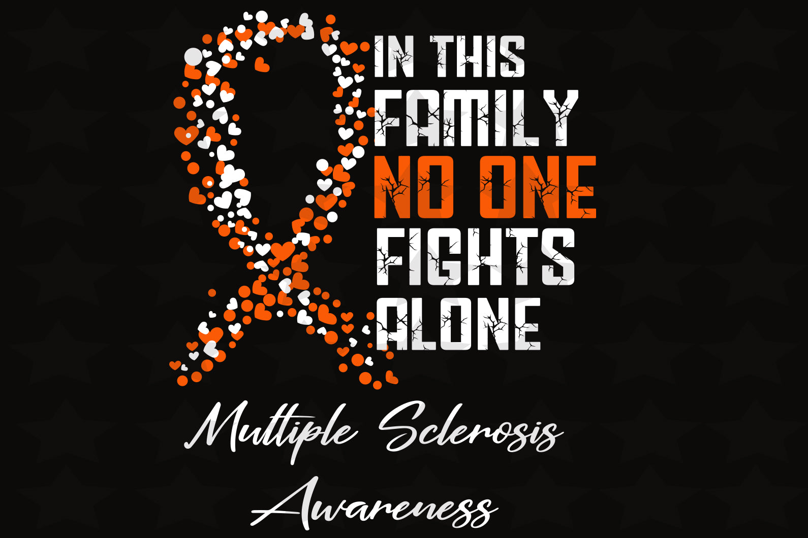 In this family no one fights alone , colon cancer, fight with cancer family,cancer fighting, cancer survivor, family svg, family shirt,family gift,trending svg, Files For Silhouette, Files For Cricut, SVG, DXF, EPS, PNG, Instant Download